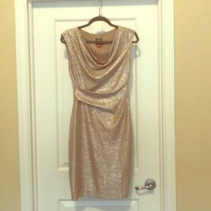 Vince Camuto Sparkly Bodycon Dress